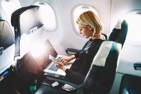 In Flight Wireless Testing Simulation